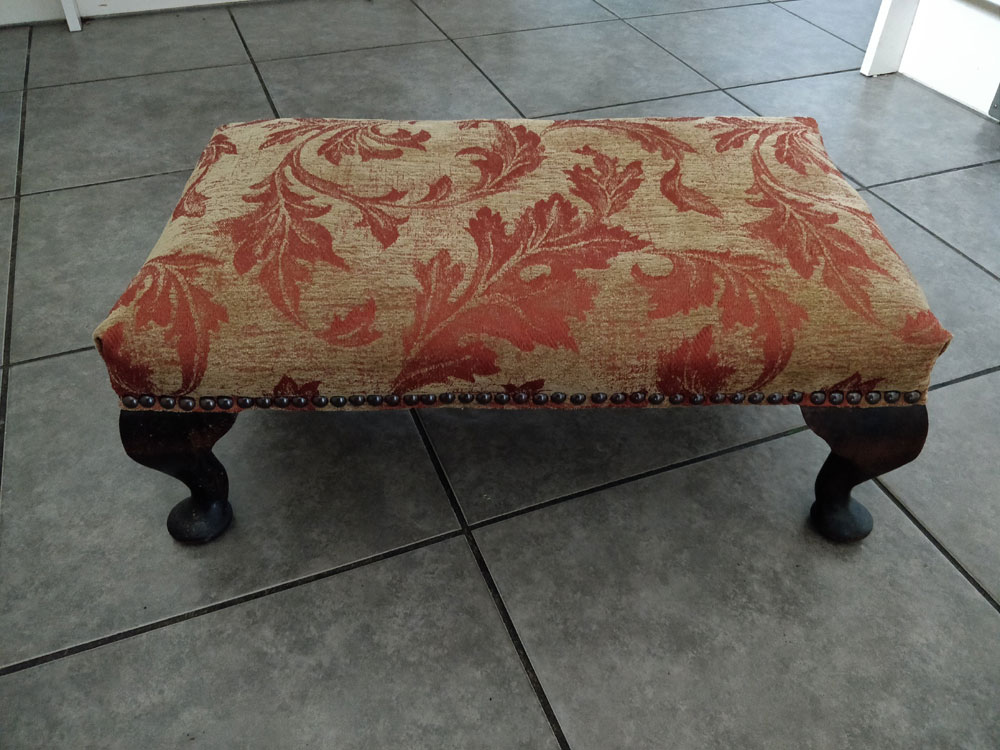 recovered footstool