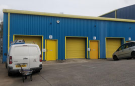 Maintaining industrial units