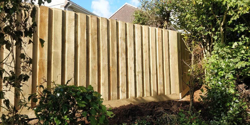 Liskeard new fence