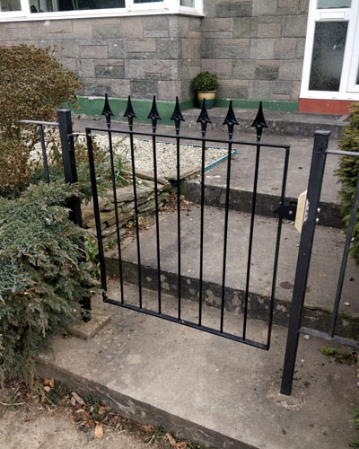 New metal gate near Liskeard