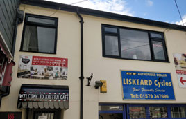 Painting windows Liskeard