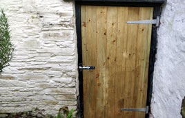 New shed door