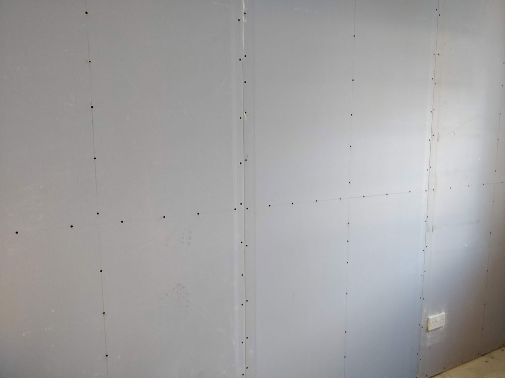 Sound block plasterboard