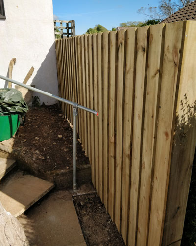 New fence Liskeard