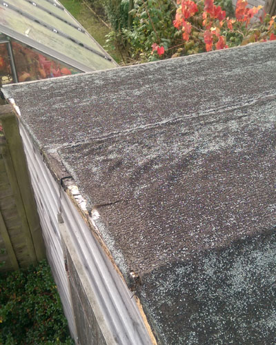 Shed Roof Repair In Tremar